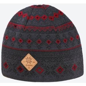 Knitted Merino cap Kama A142 111, Kama