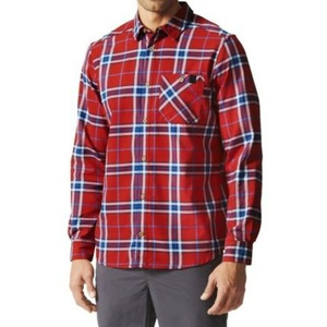 Shirts adidas AO Men Checker Moss LS Shirt AI2208, adidas