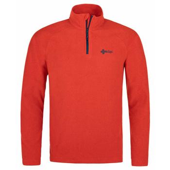 Men fleece sweatshirt Kilpi ALMERI-M Red, Kilpi