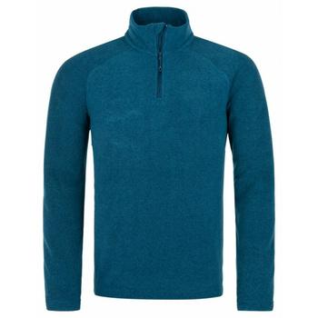 Men fleece sweatshirt Kilpi ALMERI-M turquoise, Kilpi