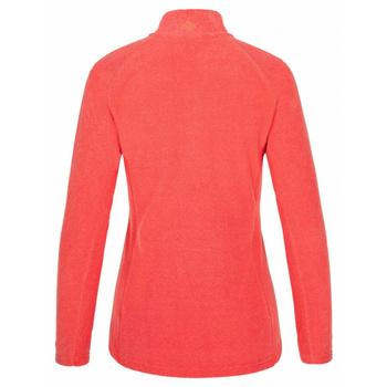 Women's fleece mikina Kilpi ALMERI-W coral, Kilpi
