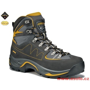 Shoes Asolo TPS Equalon GV graphite / mineral yellow/A616, Asolo