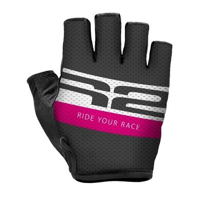 Cycling gloves R2 Ride ATR43C pink, R2