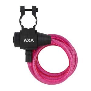 Lock AXA Rigid 120/8 key pink 59713096SC, AXA