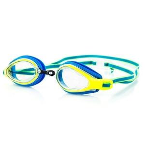 Swimming glasses Spokey KOBRA blue-yellow, Spokey