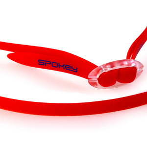 Swimming glasses Spokey SPARKI red, mirror lenses, Spokey