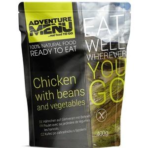 Adventure Menu Chicken after horticultural with beans, Adventure Menu