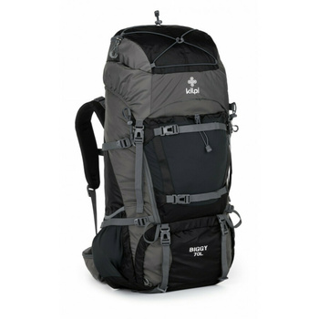 Hiking backpack 70 L Kilpi BIGGY-U dark grey, Kilpi