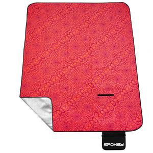 Picnic blanket Spokey PICNIC MANDALA salmon 180 x 210 cm, Spokey