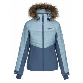 Women ski jacket Kilpi BREDA-W light blue, Kilpi
