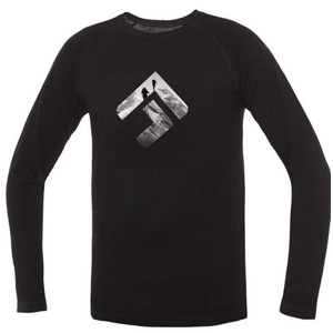 T-Shirt Direct Alpine Furry Long black (brand), Direct Alpine