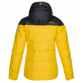 Women ski jacket Kilpi BUFFY-W Yellow, Kilpi