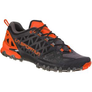 Shoes La Sportiva Bushido II carbon / tangerine, La Sportiva