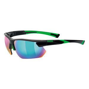 Sports glasses Uvex Sports Style 221, Black Green (2716), Uvex