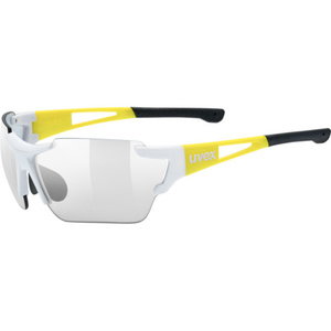 Sports glasses Uvex Sports Style 803 RACE IN M, White Yellow (8605), Uvex