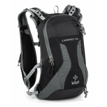 Cycling and running backpack 10 L Kilpi CADENCE-U black, Kilpi