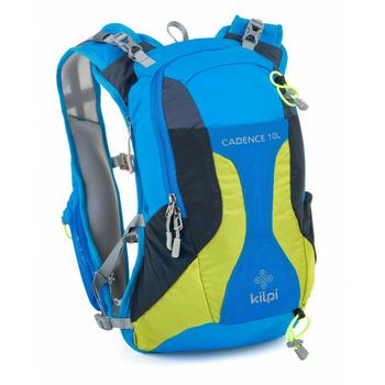 Cycling and running backpack 10 L Kilpi CADENCE-U blue, Kilpi