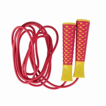 Jump rope Spokey CANDY ROPE pink-yellow, Spokey