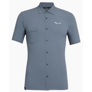 Shirts Salewa Puez MINICHECK 2 DRY M S/S SHIRT 27736-0310, Salewa
