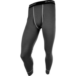 Men functional longjohns Silvini Lana MP567 dark grey, Silvini