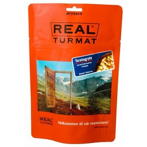 Real Turmat Cod to sour cream with potatoes, 108 g, Real Turmat
