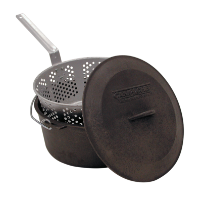Cast-iron pot Camp Chef 30 cm with cover a basket, Camp Chef