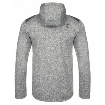 Men fleece sweatshirt Kilpi D ALB YM white, Kilpi