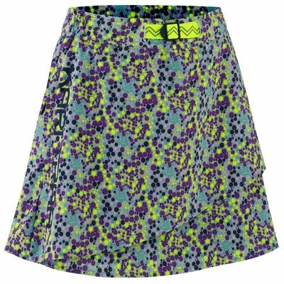 Women's sports skirt with integrated shorts Kari Traa Signe skort 622803, blue/grey, Kari Traa