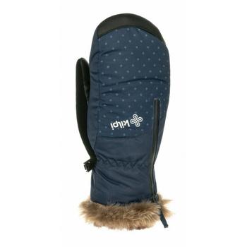 Women's ski mittens Kilpi DEBBY-W dark blue