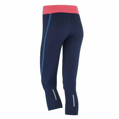 Women sports 3/4 leggings Kari Traa Sigrun 622193, blue, Kari Traa