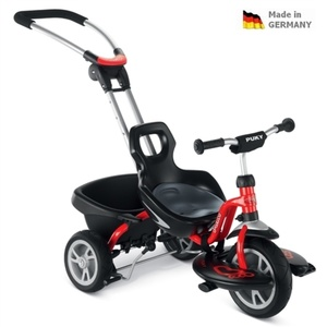 Children three-wheeler PUKY CAT S2 Ceety with guide bars 2393, Puky