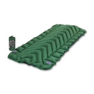 Children inflatable sleeping pad Klymit Static V Short forest green, Klymit