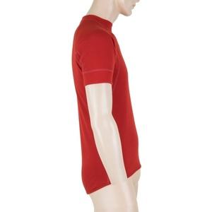 Men shirt Sensor MERINO DOUBLE FACE tm. red 18200044, Sensor