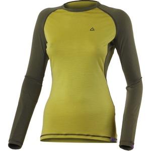 Merino shirt Lasting DITA 6463 mustard wool, Lasting