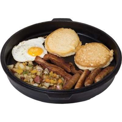 Universal cast-iron pot Camp Chef Deluxe Dutch Oven 25 cm with cover a jack, Camp Chef