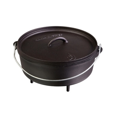 Universal cast-iron pot Camp Chef Classic Dutch Oven 35 cm with cover, Camp Chef