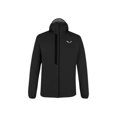 Men winter jacket Salewa Vioz powertex / polartec wool Alpha black out 28040-0910, Salewa