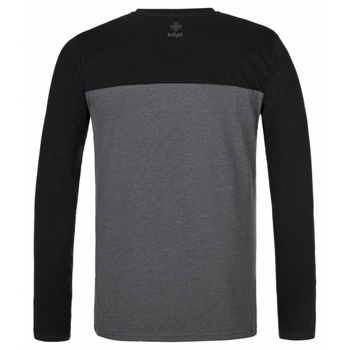 Men's T-Shirt long sleeve Kilpi DRUMON-M dark grey, Kilpi