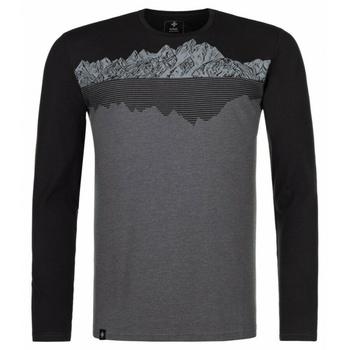 Men's T-Shirt long sleeve Kilpi DRUMON-M dark grey