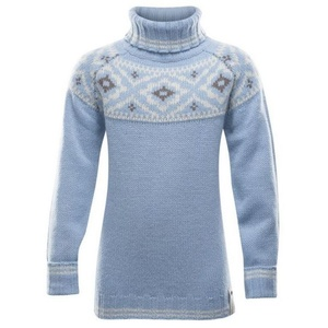 Junior warm woolen sweater Devold She Round GO 411 370 A 232A, Devold