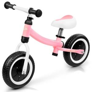 Children push bike Spokey CHILDISH pink, Spokey