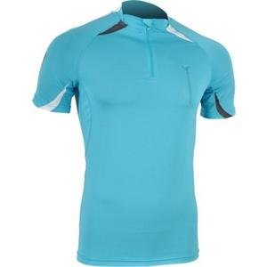 Men running shirt Silvini Lenta MD391 blue-gray, Silvini