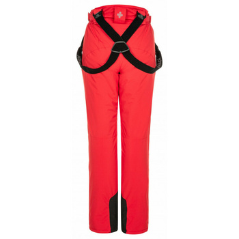 Women's ski trousers Kilpi ELARE-W Red, Kilpi