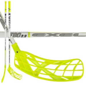 Floorball stick EXEL F80 WHITE 2.9 98 SQUARE MB L, Exel