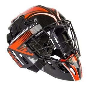Golmanskaya helmet EXEL S100 HELMET senior black / orange, Exel