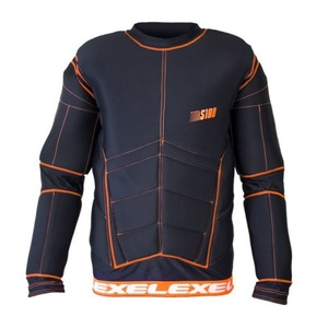 Golmanski jersey EXEL S100 PROTECTION SHIRT black / orange, Exel