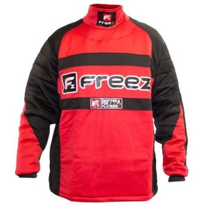 Goalkeeper jersey FREEZ Z-80 GOALIE SHIRT BLACK / RED junior, Freez