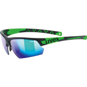 Sports glasses Uvex Sports Style 224, Black Mat Green (2716), Uvex