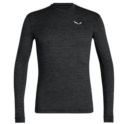 T-Shirt Salewa Puez Puez MELANGE DRY M L/S TEE 27453-0936