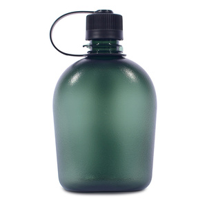 Bottle Pinguin Tritan Flask 0,75L green, Pinguin